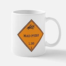 Mad Pyro Placard Mug