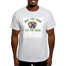 Anti-BSL custom Ash Grey T-Shirt