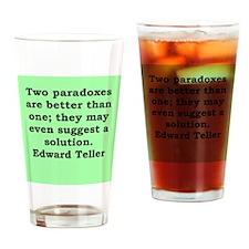 edward teller Drinking Glass