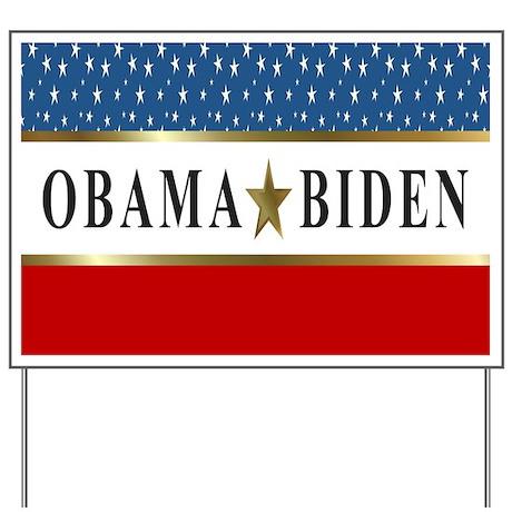 Obama Biden 2012 Star Yard Sign