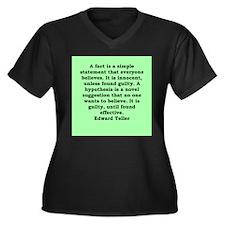 1.png Women's Plus Size V-Neck Dark T-Shirt