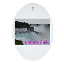 NIAGRA FALLS X™ Ornament (Oval)