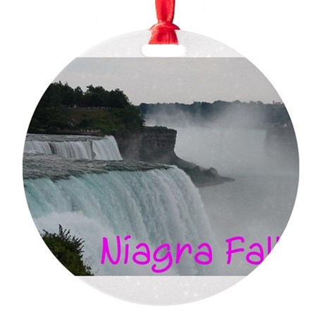 NIAGRA FALLS X™ Round Ornament