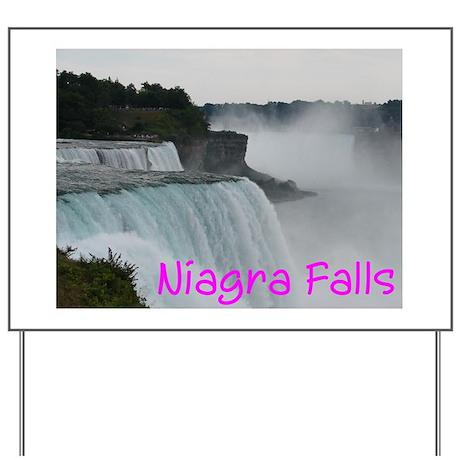 NIAGRA FALLS X™ Yard Sign