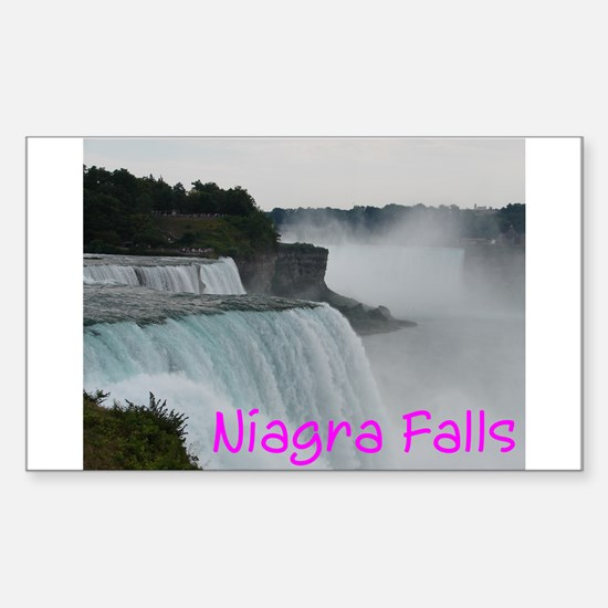 NIAGRA FALLS X™ Sticker (Rectangle)