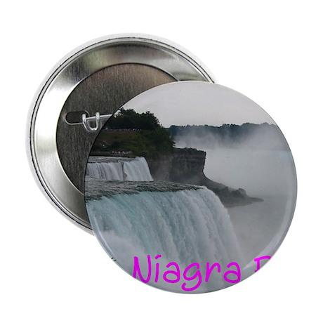 "NIAGRA FALLS X™ 2.25"" Button (100 pack)"