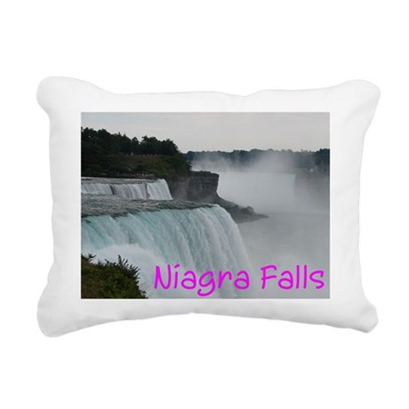 NIAGRA FALLS X™ Rectangular Canvas Pillow