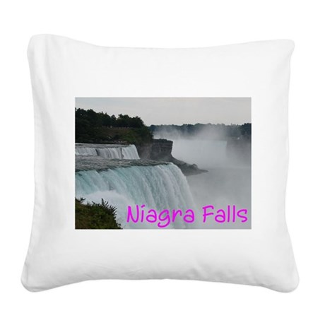 NIAGRA FALLS X™ Square Canvas Pillow