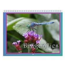Dragonflies 12 Month Wall Calendar