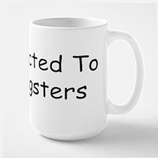 Addicted To Dragsters Large Mug