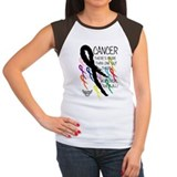 Melanoma Women's Cap Sleeve T-Shirt