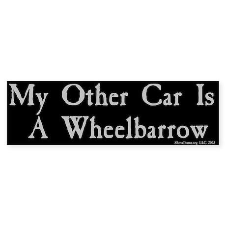 My Other Car Is A Wheelbarrow - BMP