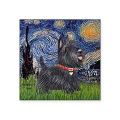 Starry - Scotty (#15) Square Sticker 3