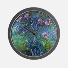 Claude Monet Jewelry Lilies Wall Clock