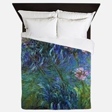 Claude Monet Jewelry Lilies Queen Duvet