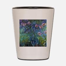 Claude Monet Jewelry Lilies Shot Glass