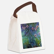 Claude Monet Jewelry Lilies Canvas Lunch Bag