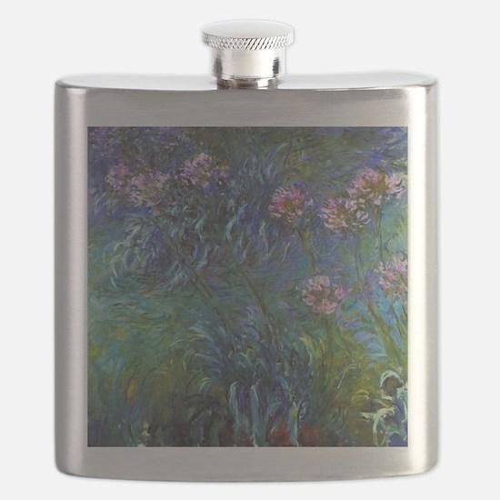 Claude Monet Jewelry Lilies Flask