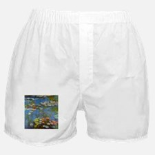 Claude Monet Water Lilies Boxer Shorts