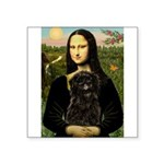 Mona - Affenpinscher3 Square Sticker 3