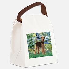 Bridge - Airedale #6 Canvas Lunch Bag