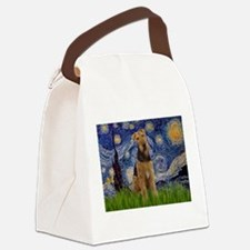 Starry - Airedale #1 Canvas Lunch Bag