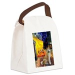 Cafe - Akita2 Canvas Lunch Bag