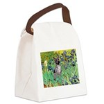 Irises-Am.Hairless T Canvas Lunch Bag