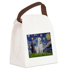 Starry-AnatolianShep1 Canvas Lunch Bag