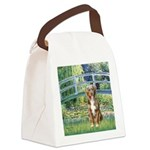 Bridge-Aussie Shep (#5) Canvas Lunch Bag