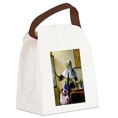 Pitcher-Aussie Shep1 Canvas Lunch Bag