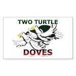 MidEve-Tri Aussie Shep Square Sticker 3
