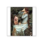 Ophelia-Aussie Terrier Square Sticker 3