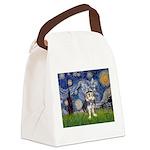 Starry-AussieTerrier2 Canvas Lunch Bag