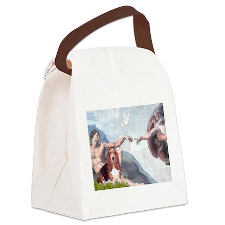 Creation & Basset Canvas Lunch Bag