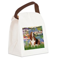 Lilies & Basse Canvas Lunch Bag