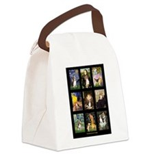 Beagle Famous Art--V.png Canvas Lunch Bag