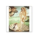 Venus & Beagle Square Sticker 3