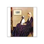 WMom / Beagle (#2) Square Sticker 3