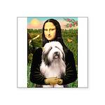 Mona / Bearded Collie #1 Square Sticker 3