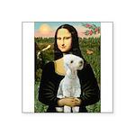 Mona / Bedlington(T) Square Sticker 3