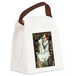 Ophelia / Bedlington T Canvas Lunch Bag