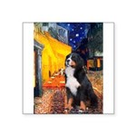 5.5x7.5-Cafe-Bernese.png Square Sticker 3