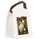 5.5x7.5-Windflowers-Bernese.png Canvas Lunch Bag