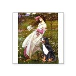 5.5x7.5-Windflowers-Bernese.png Square Sticker 3