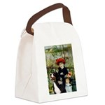 PILLOW-2Sisters-Bernese1.png Canvas Lunch Bag