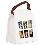 FamousArt-BichonFrise-CLEAR.png Canvas Lunch Bag