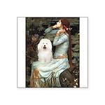 Ophelia & Bolognese Square Sticker 3
