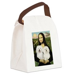 Mona's 2 Bolognese Canvas Lunch Bag