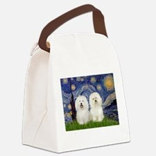 Starry Night / 2 Bolognese Canvas Lunch Bag